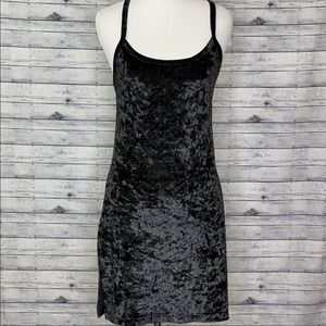 Victoria's Secret Velvet Dress Black Small